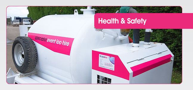 Portable Toilet Hire Health and Safety from Mobaloo